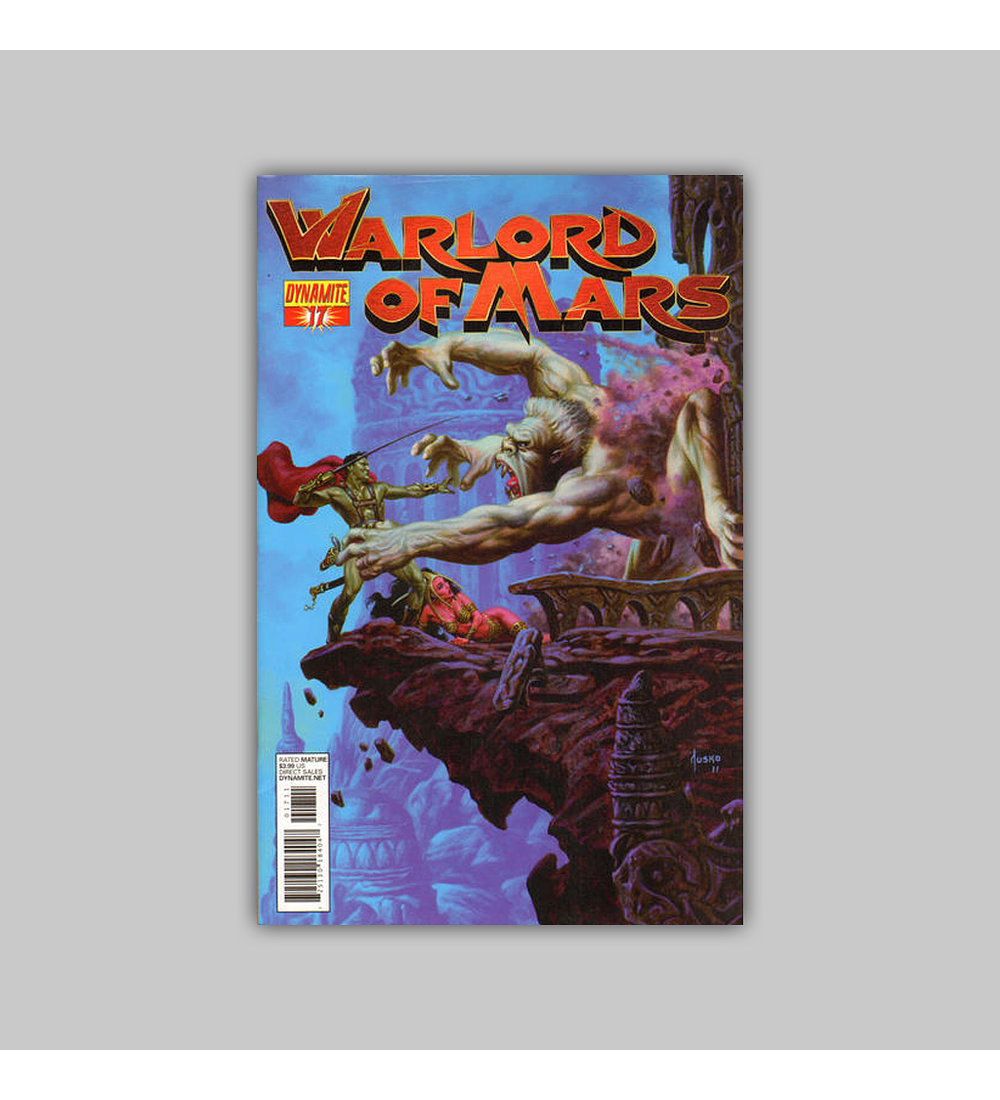 Warlord of Mars 17 2012