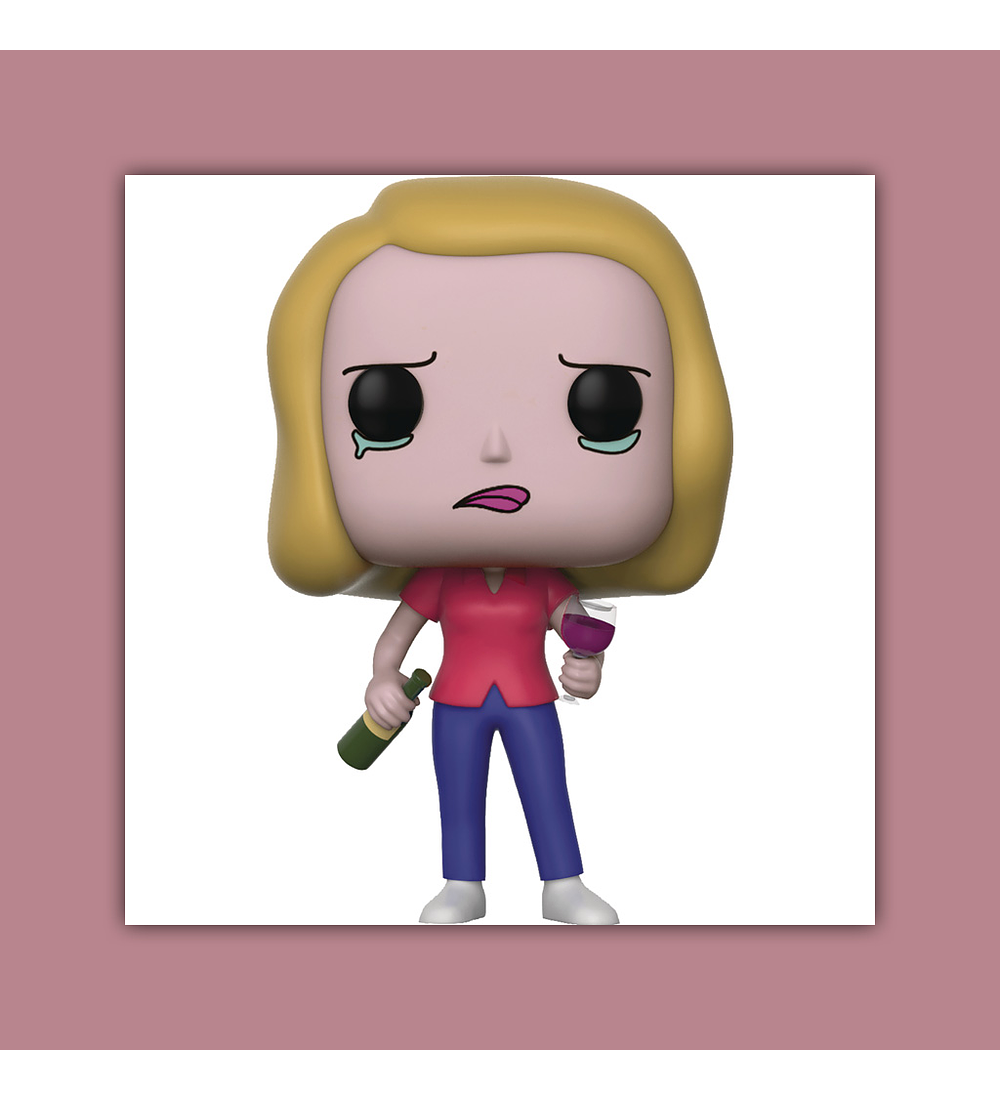 Pop! Rick and Morty Vinyl Figure: Beth with Wine 2017