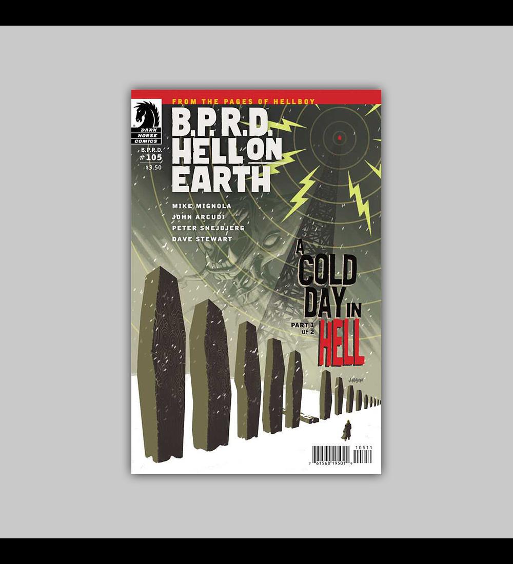BPRD: Hell on Earth 105 2013
