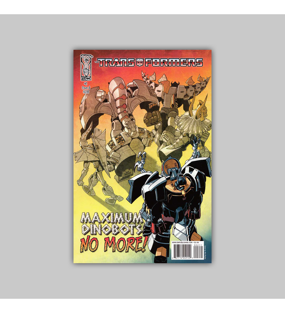 Transformers: Maximum Dinobots 2 2009