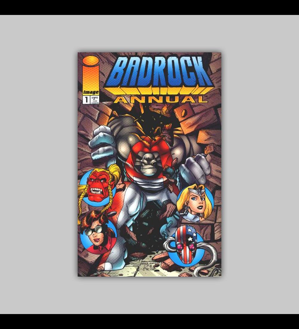 Badrock Annual 1 1995