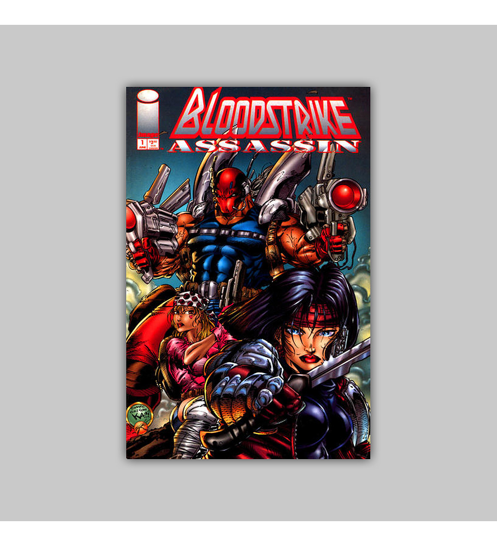 Bloodstrike Assassin 1 1995