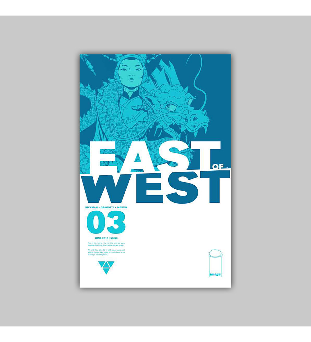 East of West 3 2013