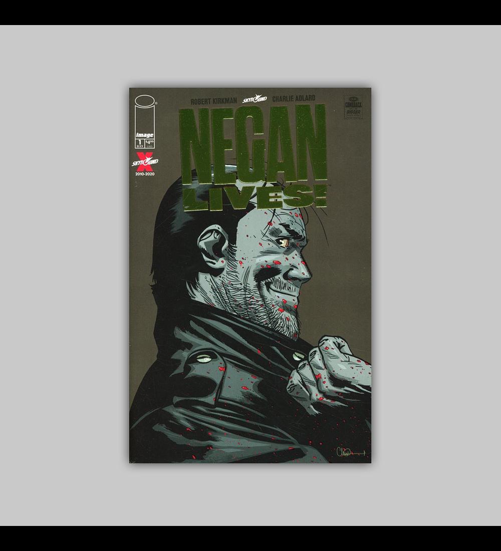 Negan Lives 1 Gold Foil 2020