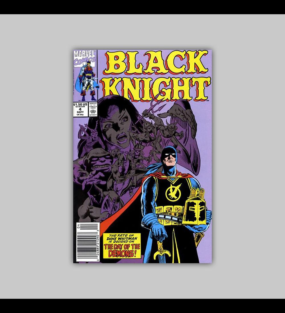 Black Knight 4 VF/NM (9.0) 1990