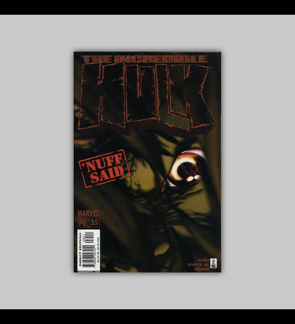 Incredible Hulk (Vol. 2) 35 2002