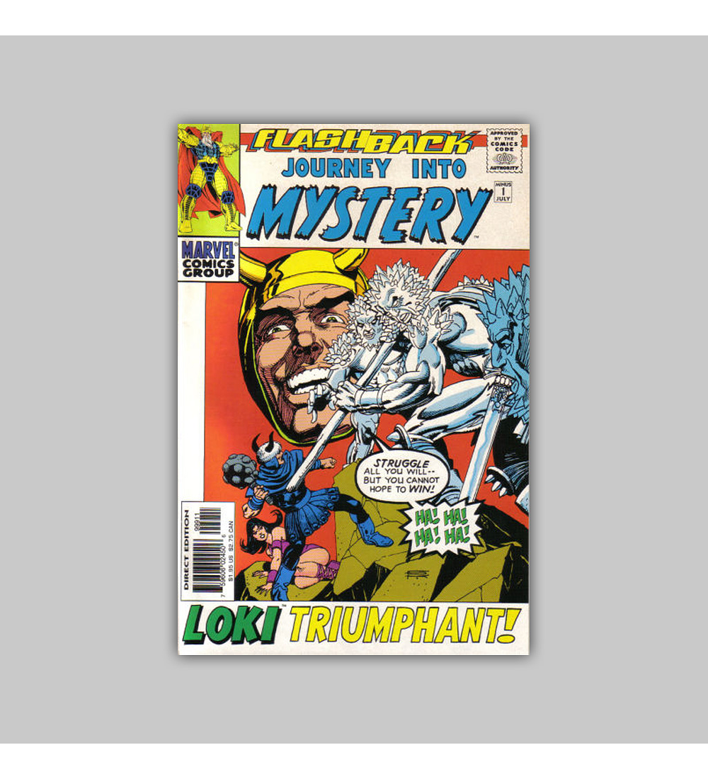 Journey Into Mystery -1 VF/NM (9.0) 1998
