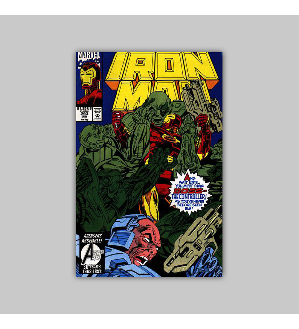 Iron Man 293 1993