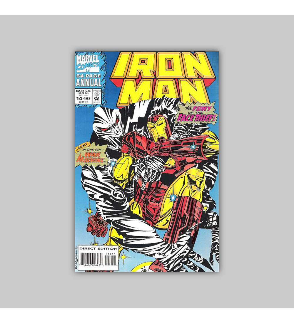 Iron Man Annual 14 Polybagged 1993