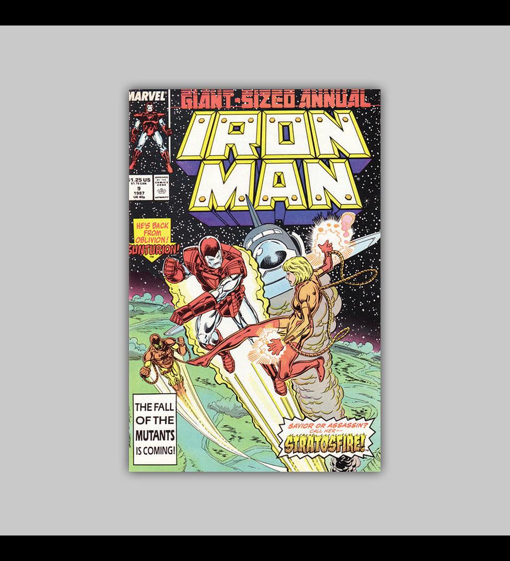 Iron Man Annual 9 1987