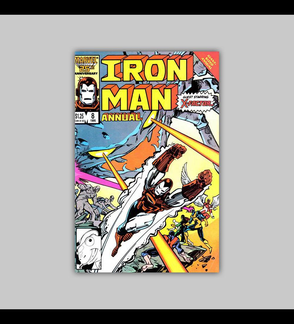 Iron Man Annual 8 1986