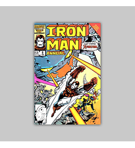 Iron Man Annual 8 1986