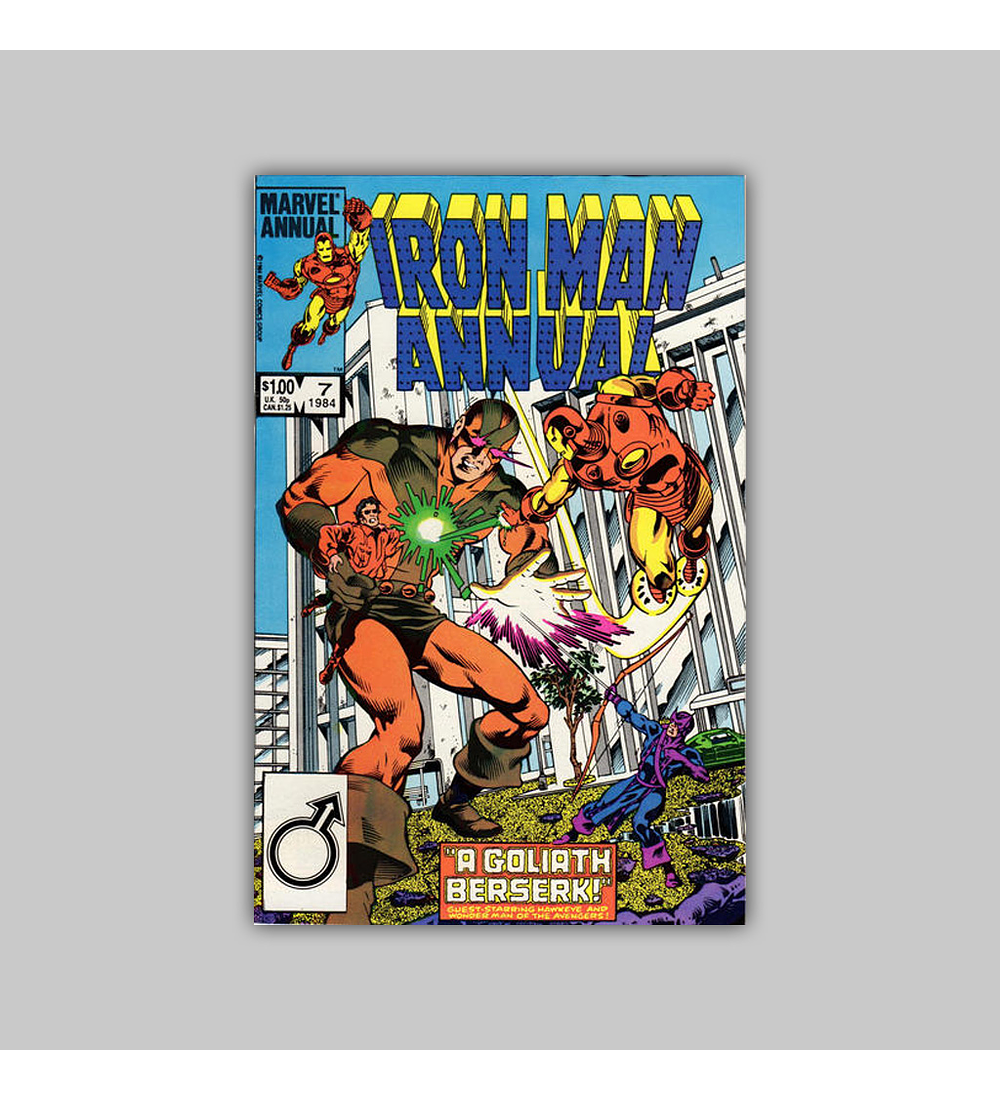 Iron Man Annual 7 1984