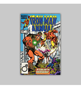 Iron Man Annual 7 1984