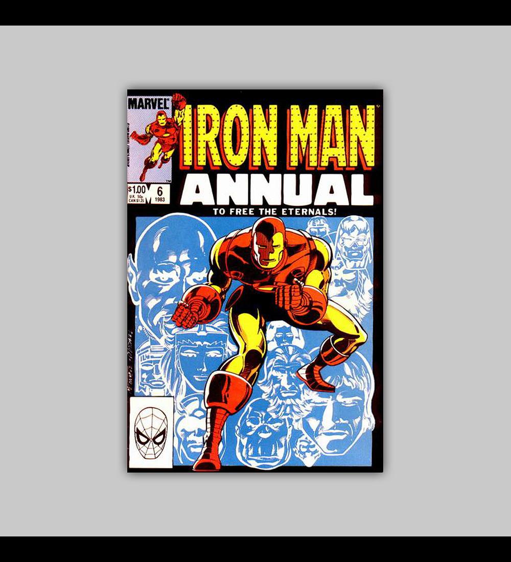 Iron Man Annual 6 1983