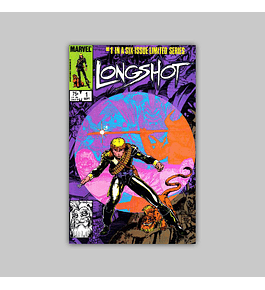 Longshot 1 VF/NM (9.0) 1985