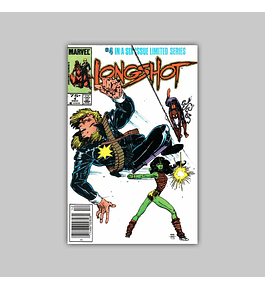 Longshot 4 VF/NM (9.0) 1985