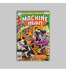 Machine Man 18 VF/NM (9.0) 1980