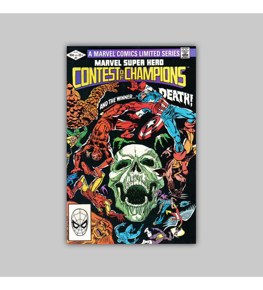 Marvel Super-Hero: Contest of Champions 3 FN (6.0) 1982
