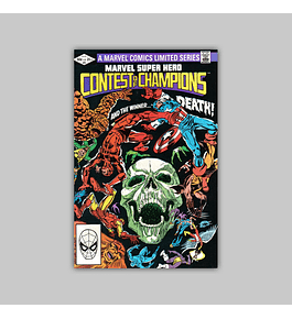 Marvel Super-Hero: Contest of Champions 3 FN (6.0) 1982