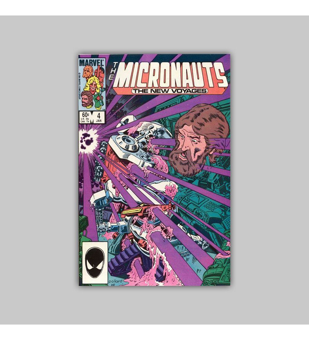 Micronauts: The New Voyages 4 1985