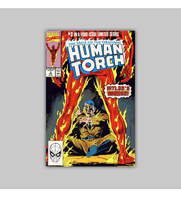 Saga of the Original Human Torch 3 1990