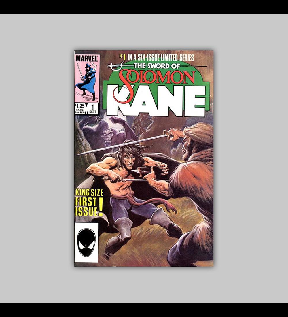 The Sword of Solomon Kane 1 1985