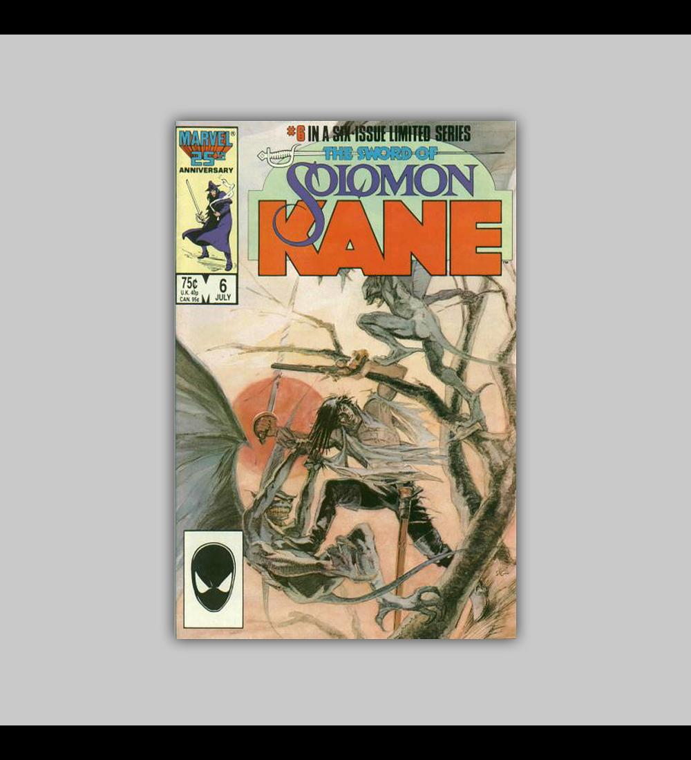 The Sword of Solomon Kane 6 1986