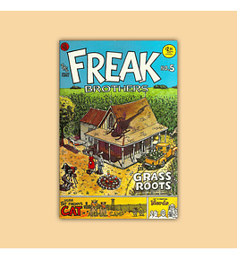 The Freak Brothers 5 5th printing 1988