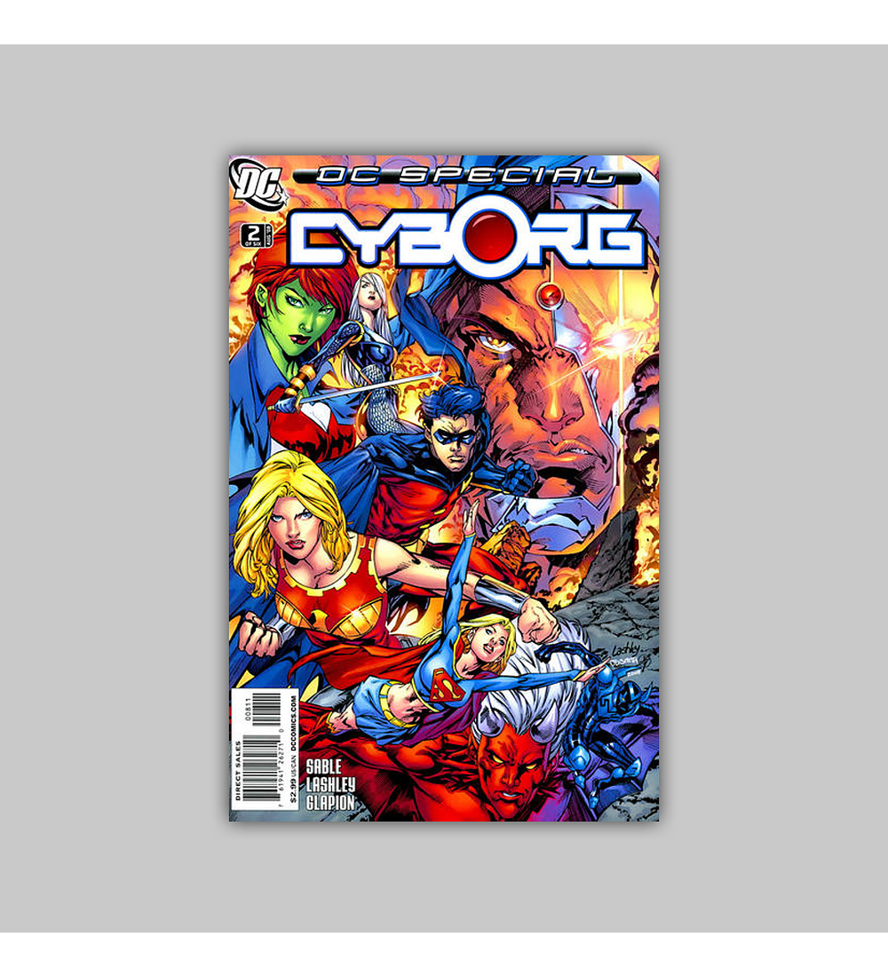 DC Special: Cyborg (complete limited series) 2008