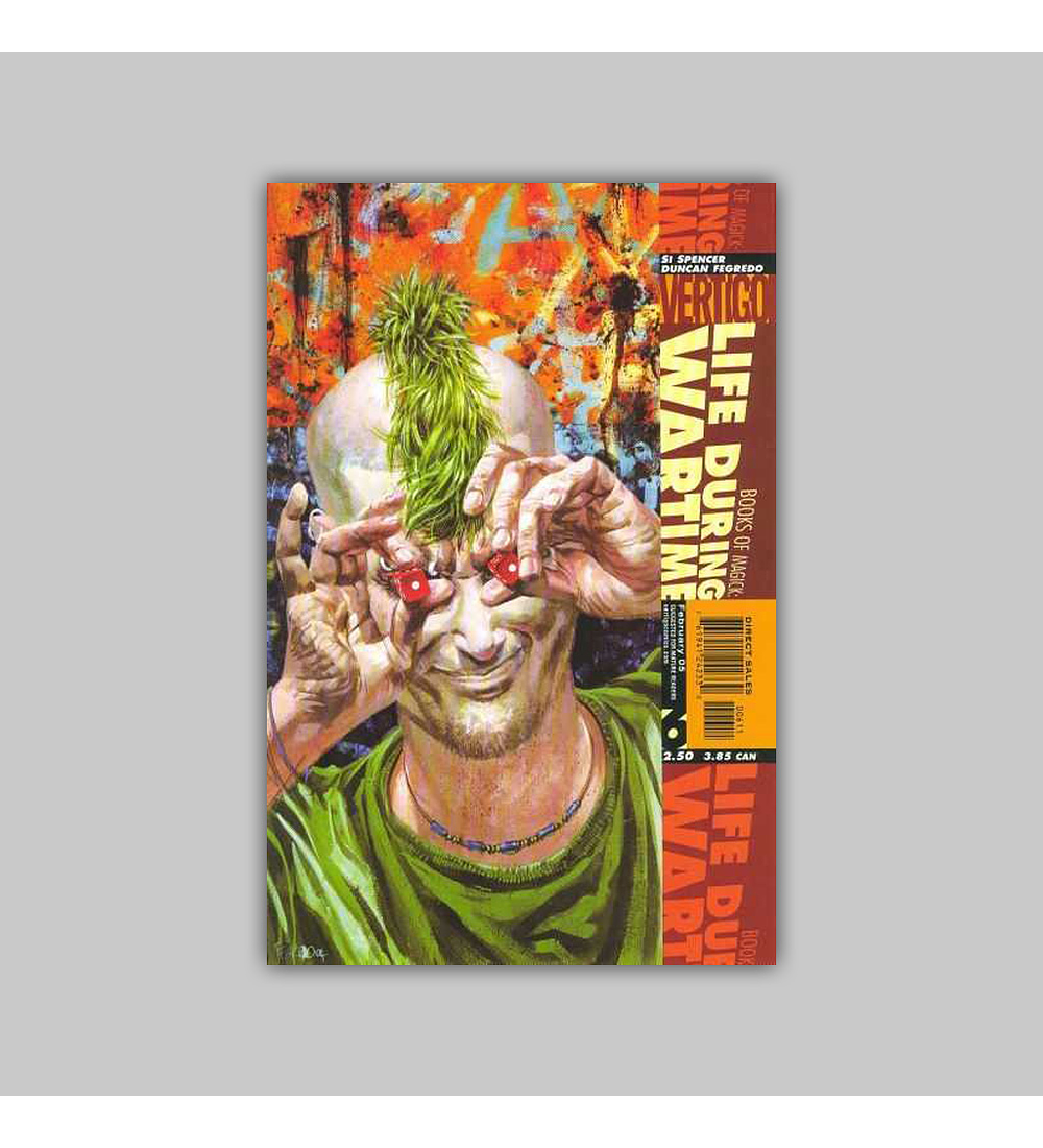 Books of Magic: Life During Wartime 6 2005