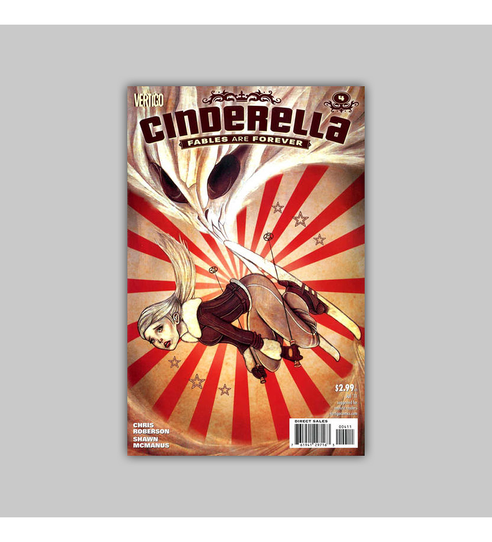Cinderella: Fables Are Forever 4 2011