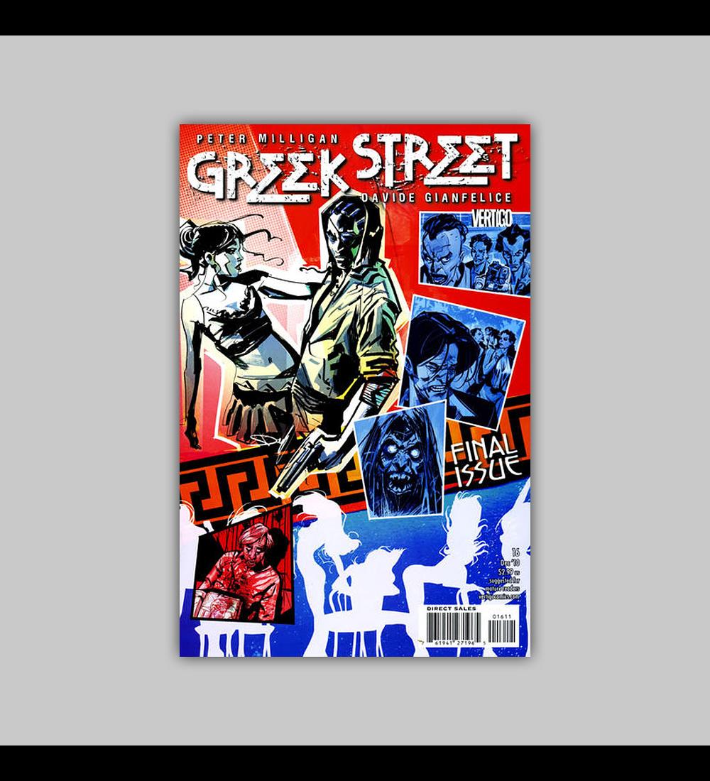 Greek Street 16 2010