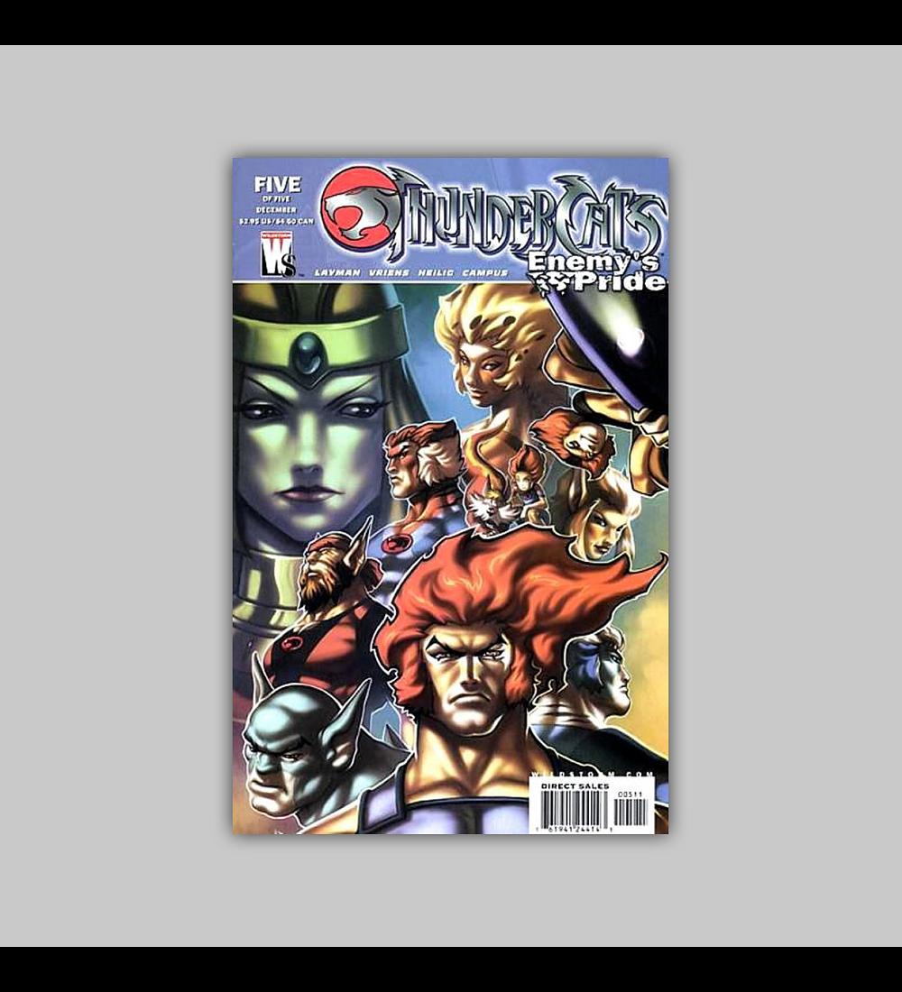 Thundercats: Enemy's Pride 5 2004