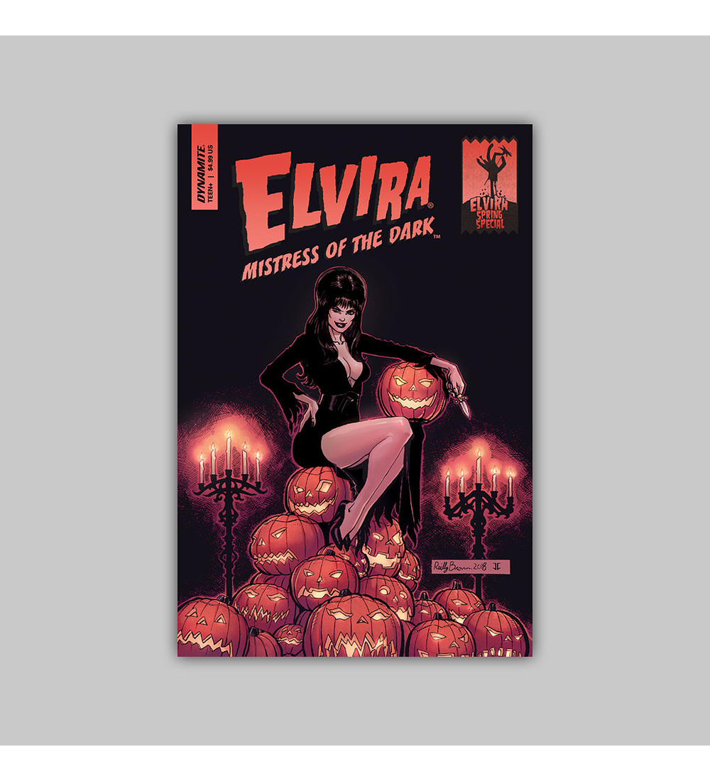 Elvira, Mistress of the Dark Spring Special 1 2018