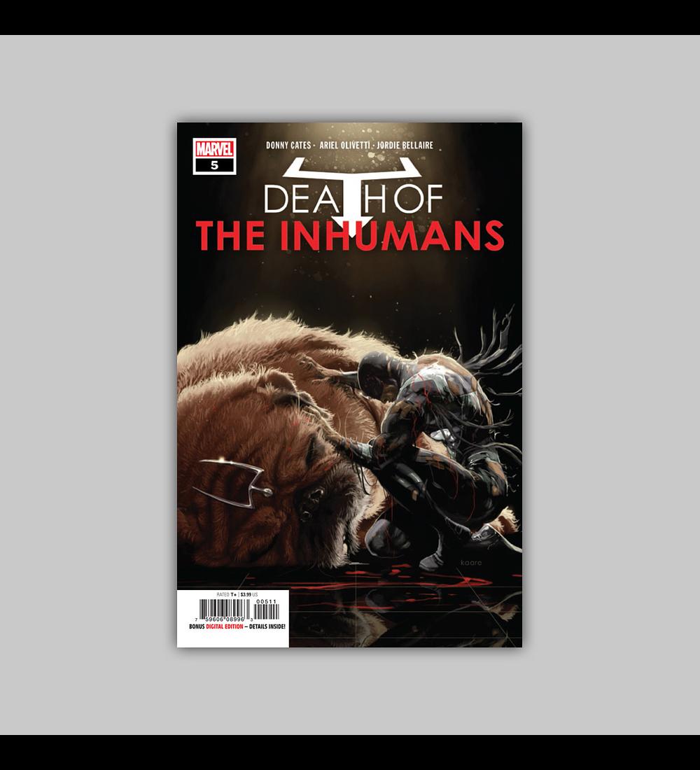 Death of the Inhumans 5 2019