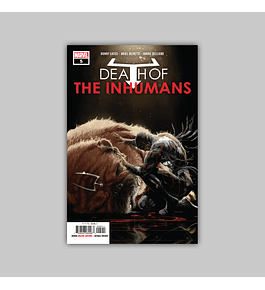 Death of the Inhumans 5 2019