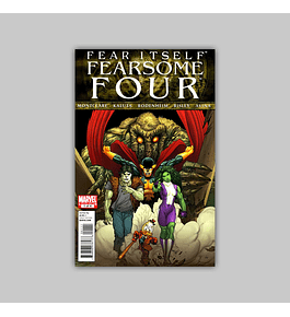 Fear Itself: Fearsome Four (complete limited series) 2011