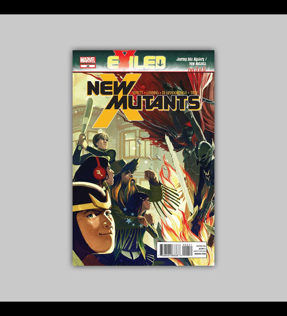 New Mutants (Vol. 3) 42 2012
