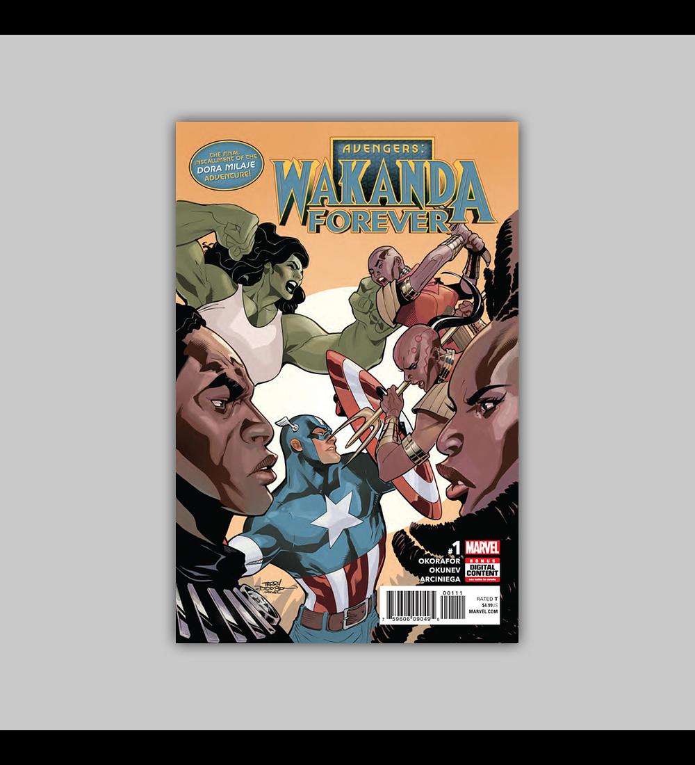 Wakanda Forever: Avengers 1 2018