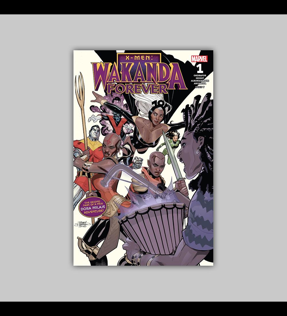 Wakanda Forever: X-Men 1 2018
