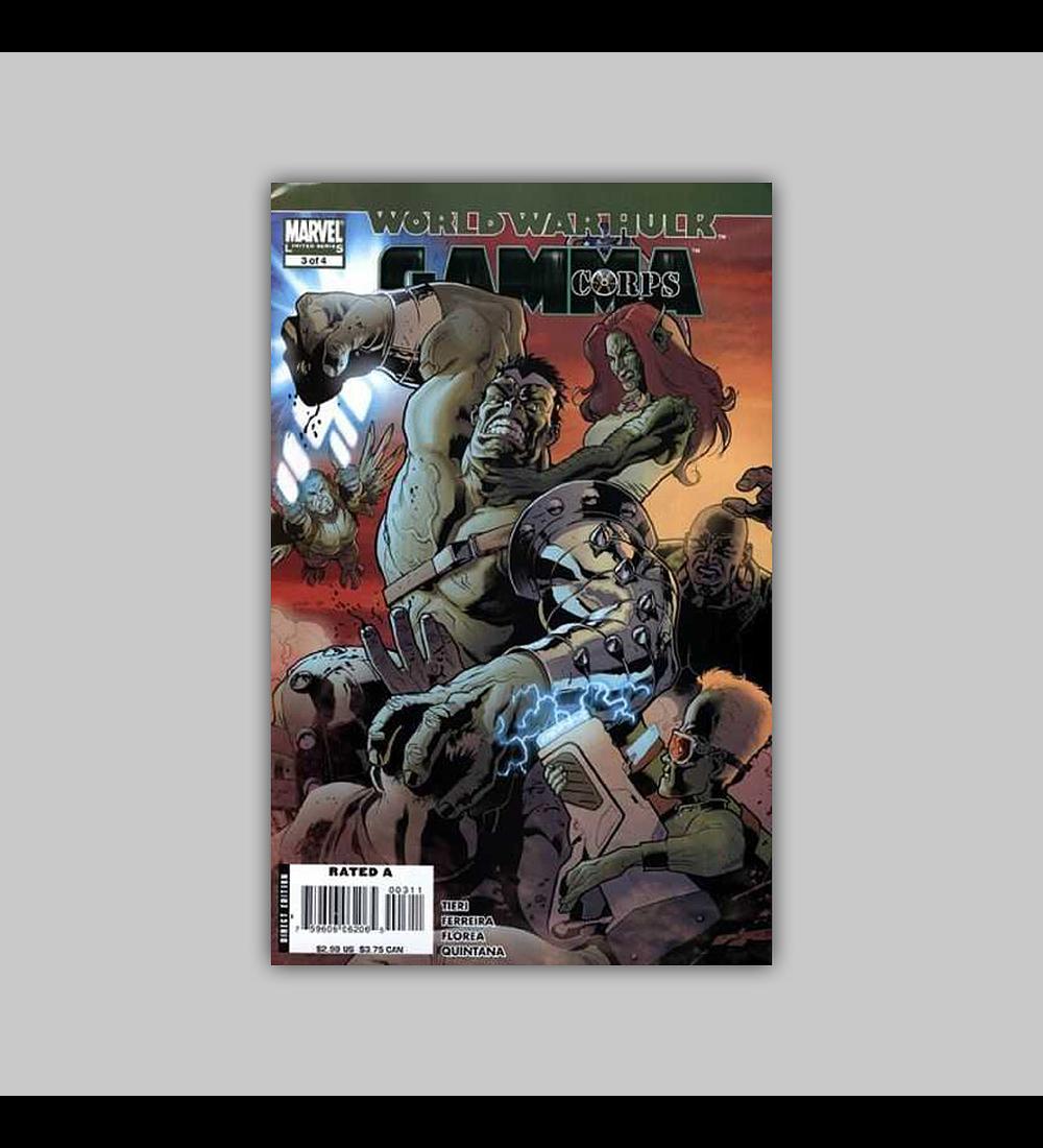 World War Hulk: Gamma Corps (complete limited series) 2008