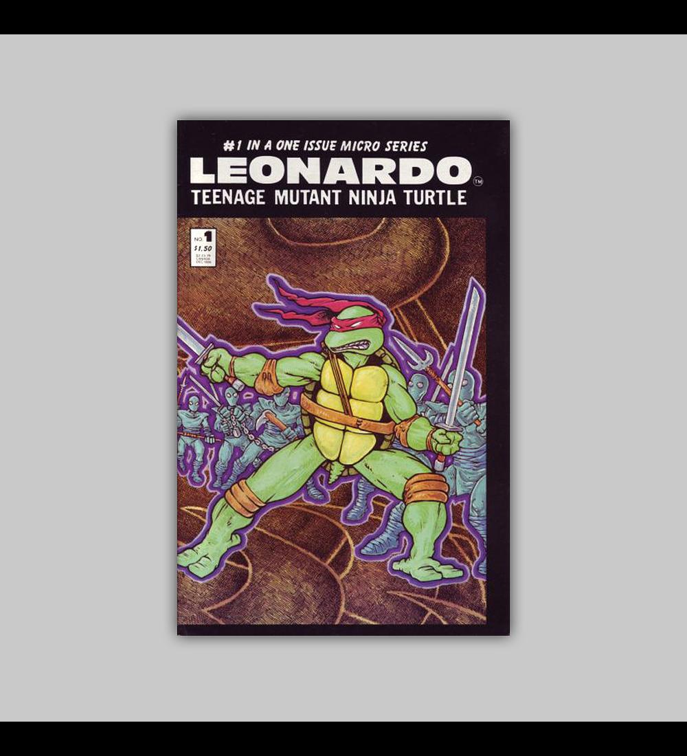 Leonardo Teenage Mutant Ninja Turtle 1 1986