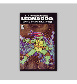 Leonardo Teenage Mutant Ninja Turtle 1 1986