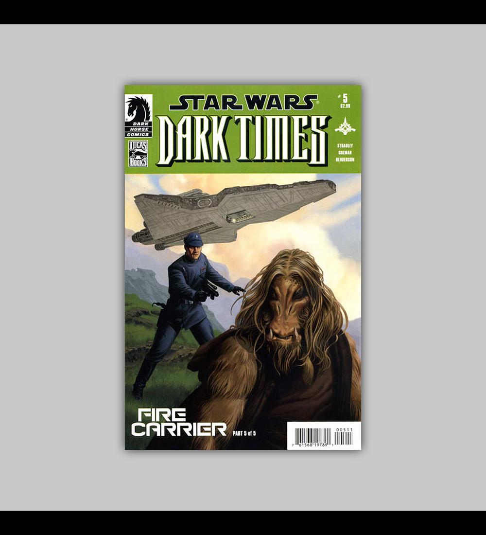 Star Wars: Dark Times - Fire Carrier 5 2013