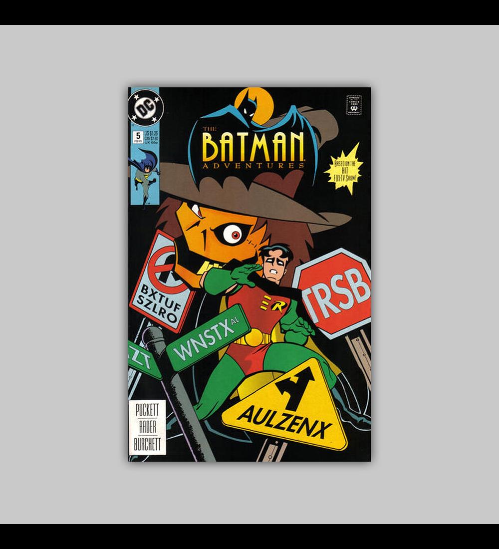 Batman Adventures 5 1993