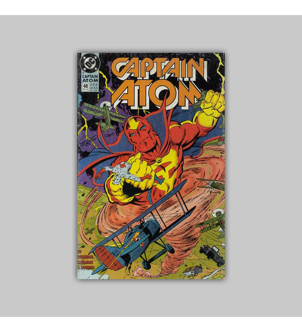 Captain Atom 48 1990