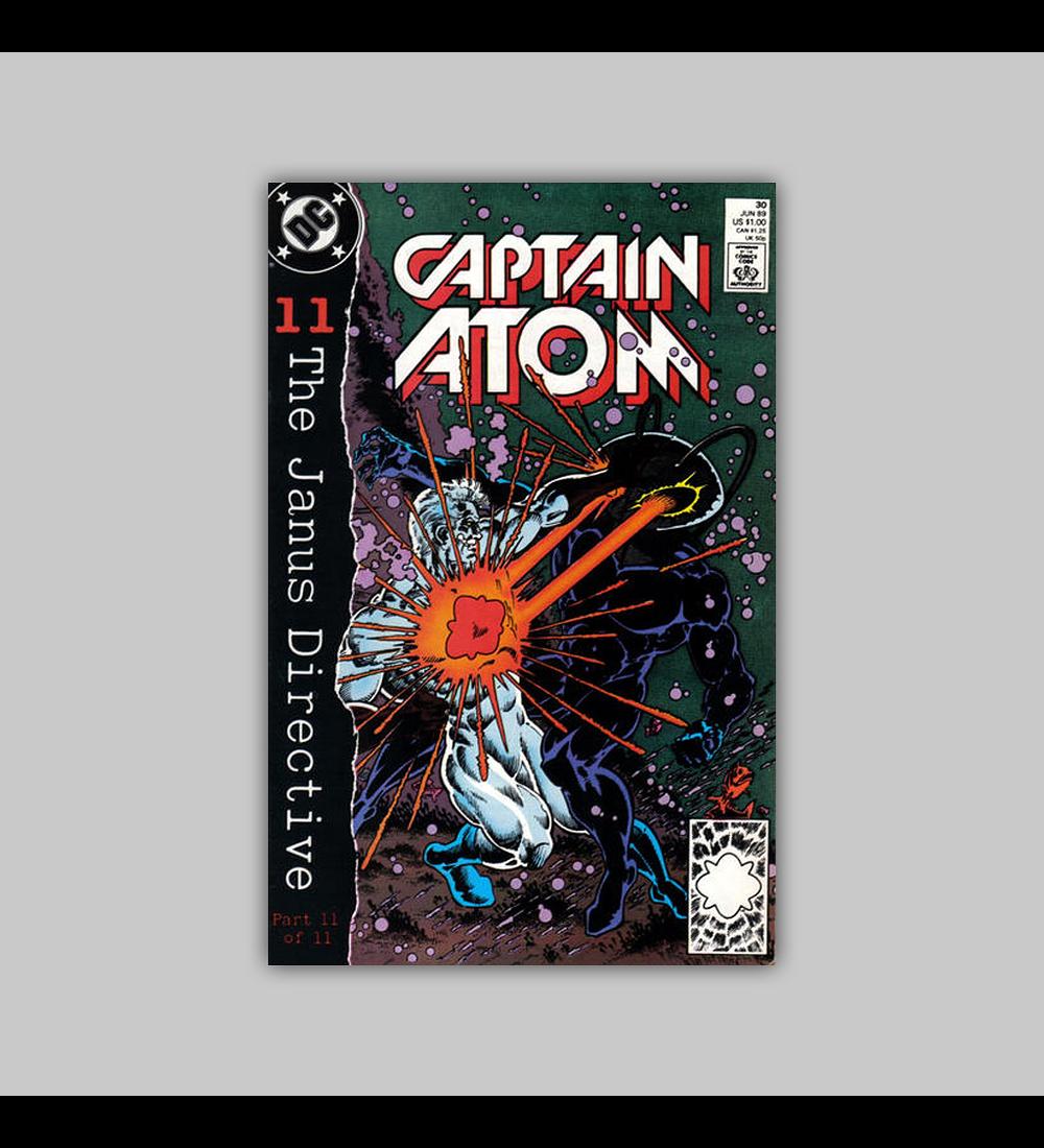 Captain Atom 30 1989