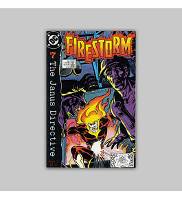 Firestorm the Nuclear Man 86 VF/NM (9.0) 1989