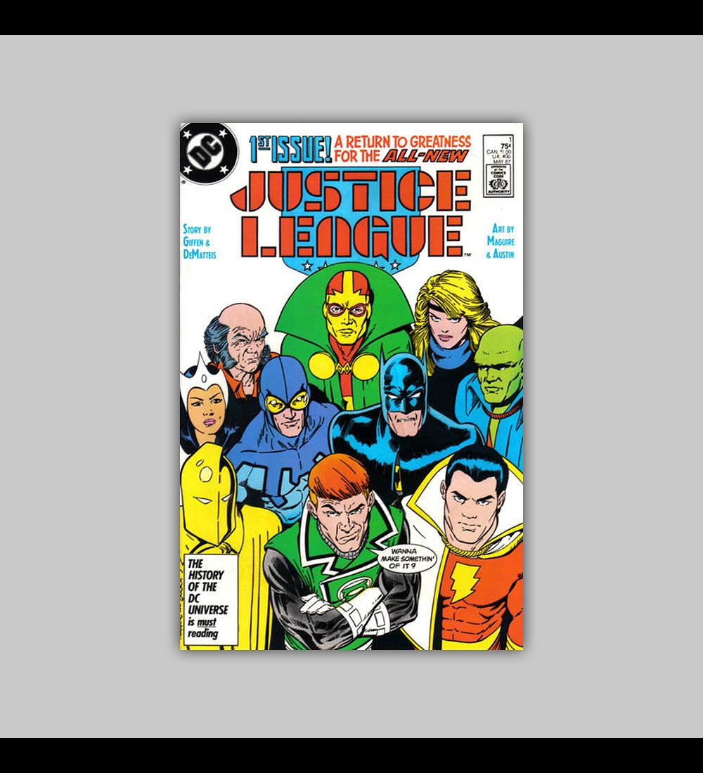 Justice League 1 Signed 1987